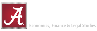 Economics, Finance, Legal Studies at the Culverhouse College of Business